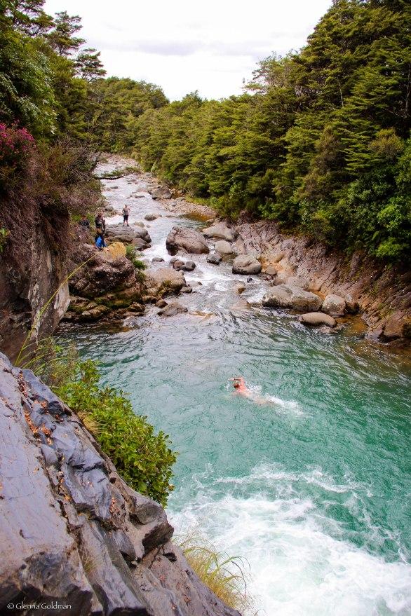 Tongariro National Park, New Zealand, Waterfall
