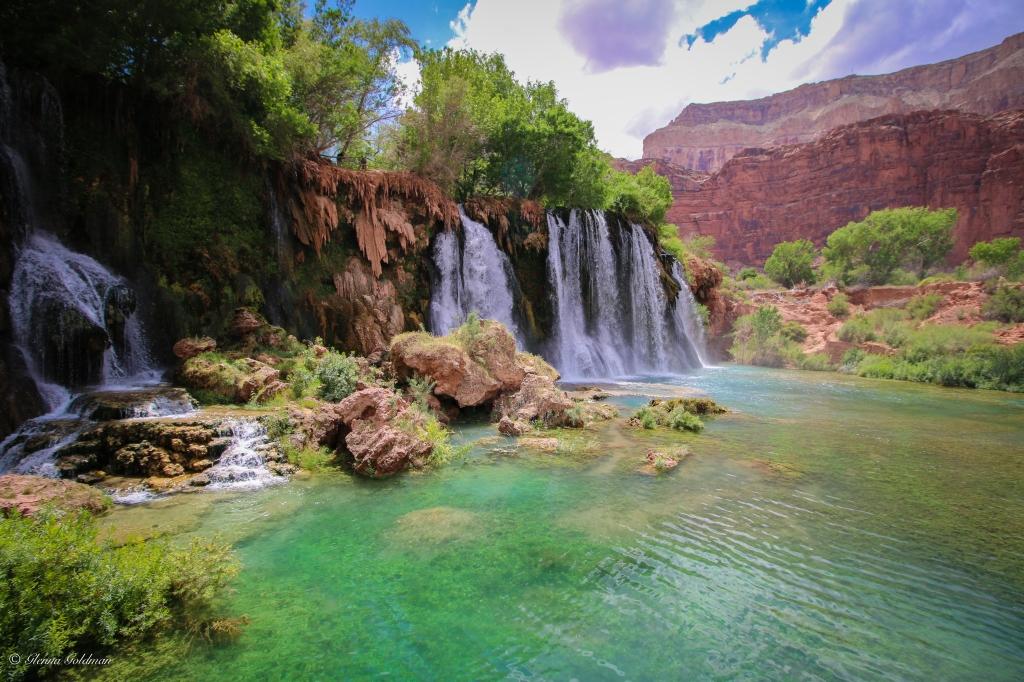 Old Navajo Falls