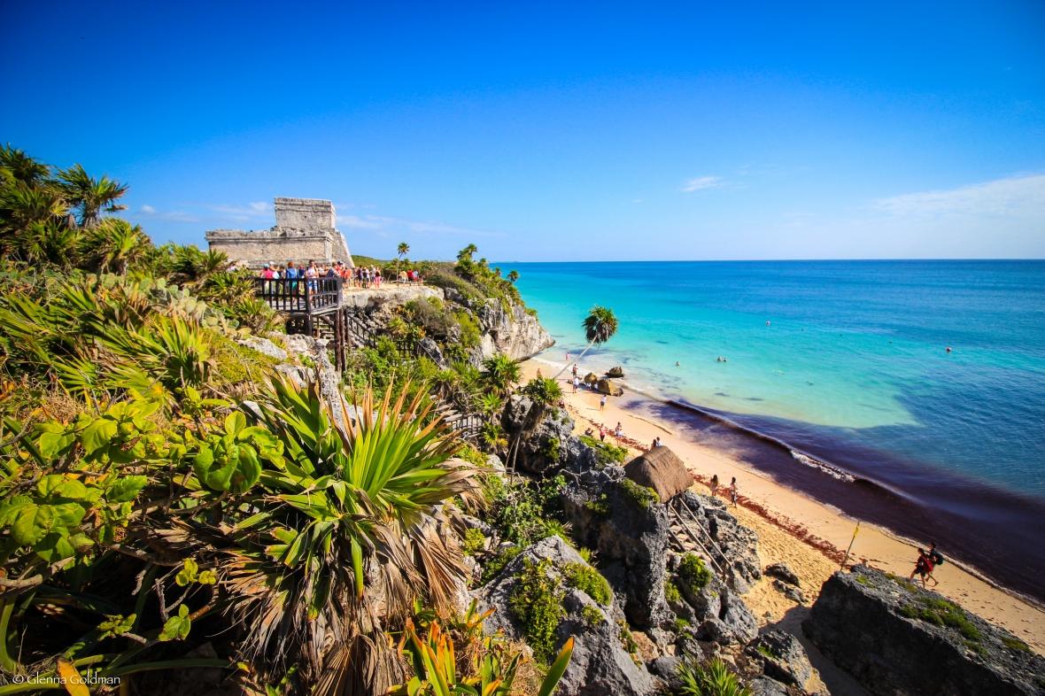 Mexico, beach, Tulum, Yucatan