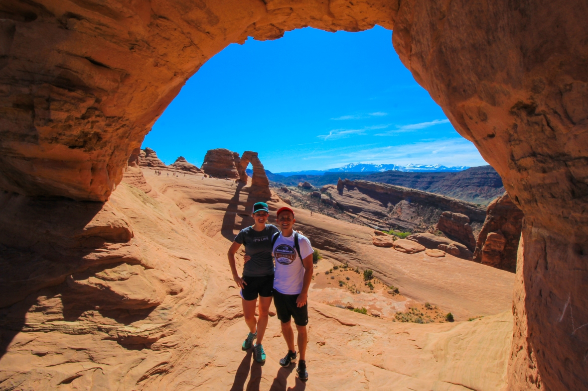 Moab, Arches, National Park, Delicate Arch