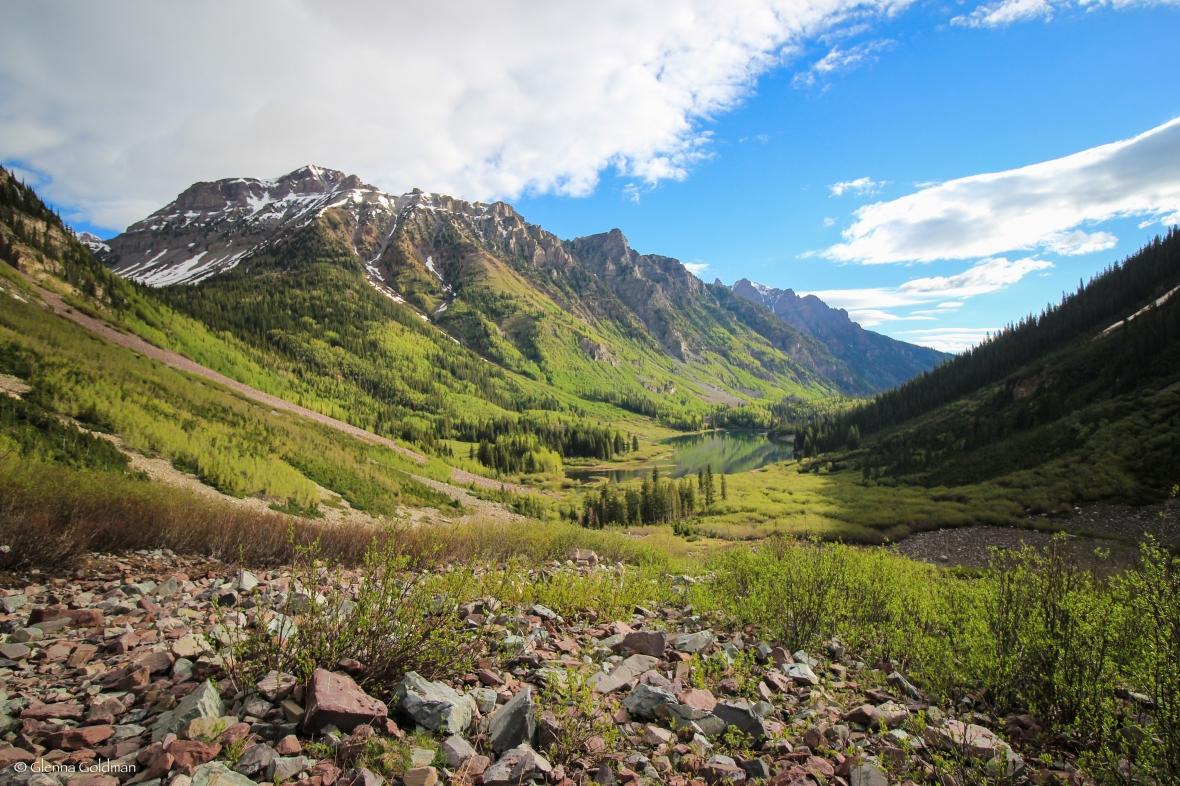 Maroon Bells, Colorado, Mountains, Aspen