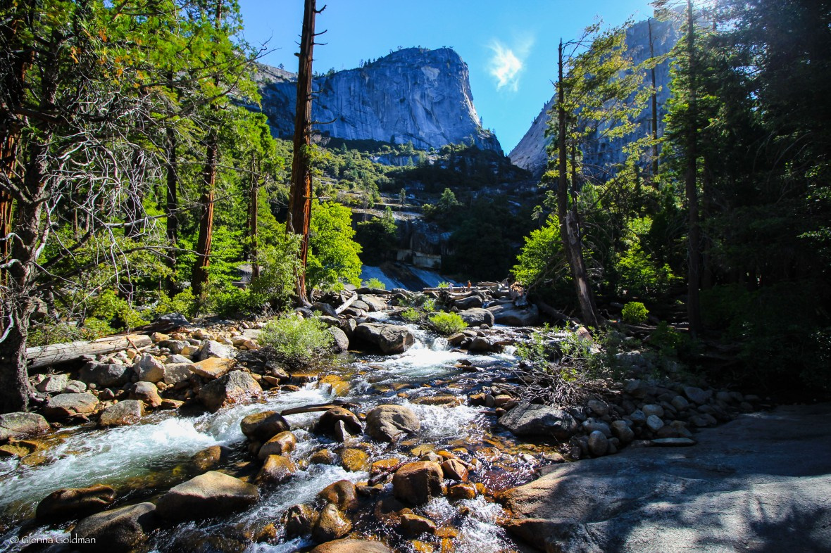 Yosemite National Park, California, backpacking, John Muir Trail, Vernal Falls