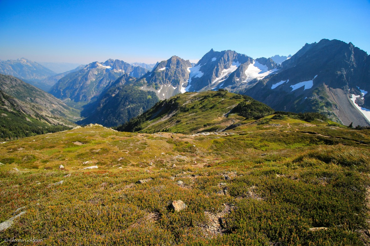 Sahale Glacier Trail in North Cascades, Washington