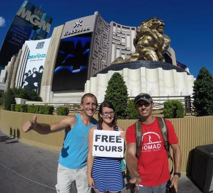 Free Walking Tour Las Vegas