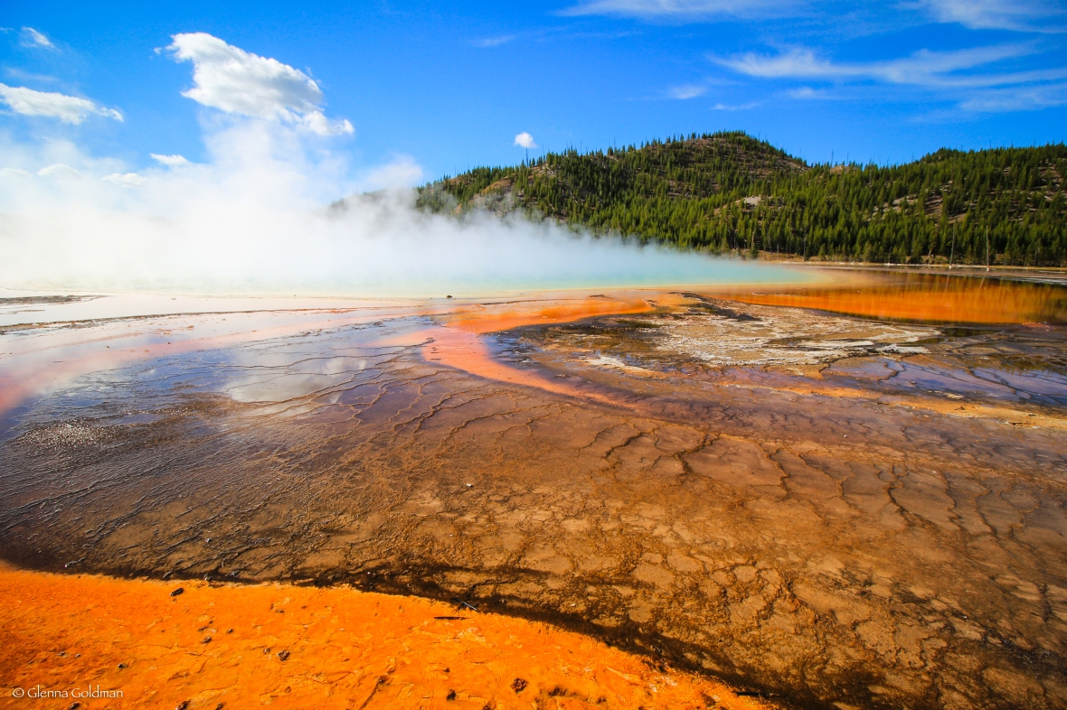 Grand Prismatic Spring Yellowstone National Park, Wyoming