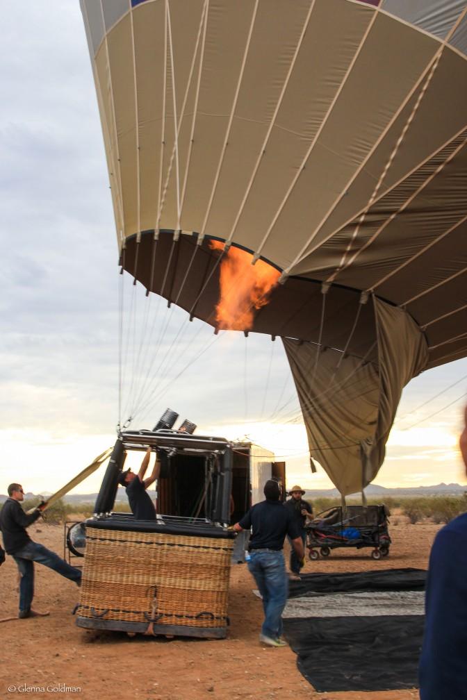 Hot Air Balloon, Arizona