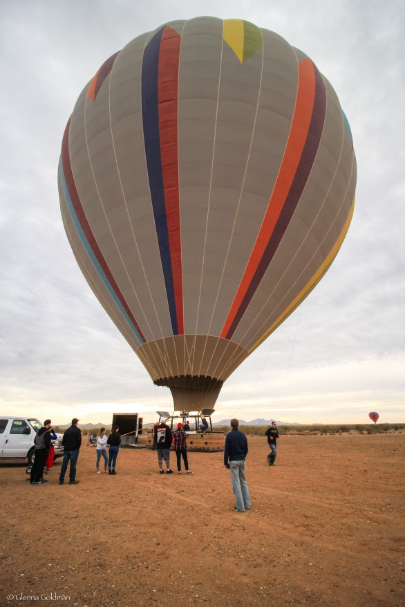 Hot Air Balloon, Arizona