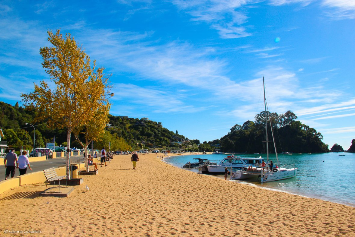 Kaiteriteri, New Zealand, beach