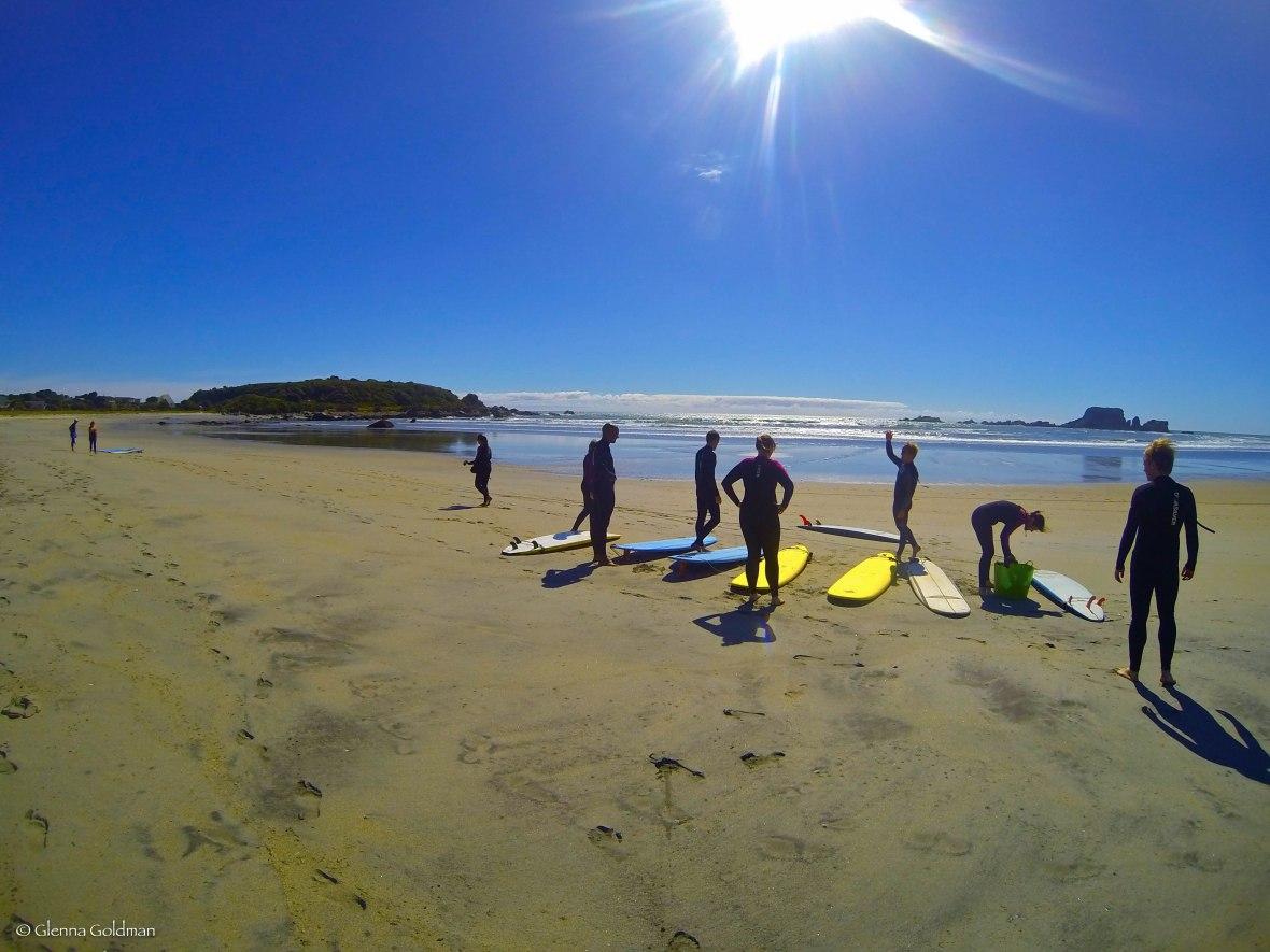 Surfing, New Zealand