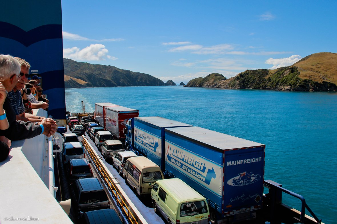 ferry, New Zealand