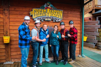 Great Alaskan Lumberjack Show Alaskan Cruise Excursion