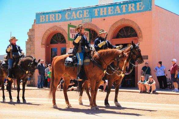 Tombstone Parade Cavalry