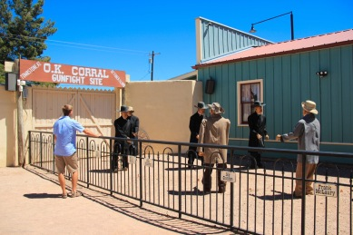 Tombstone OK Corral Gunfight