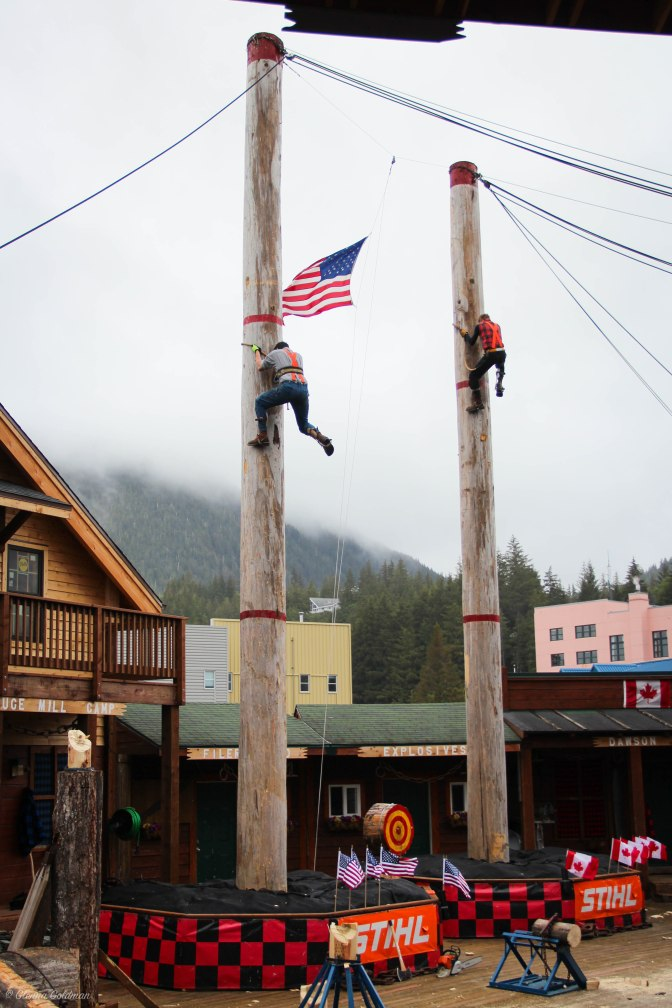 Lumberjack Show Ketchikan Alaskan Cruise Excursion
