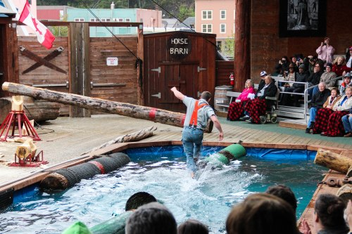 Lumberjack Show Ketchikan Alaskan Cruise Excursion