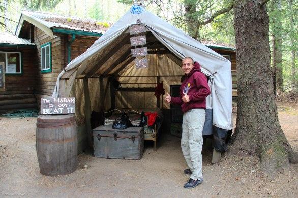 Alaskan Cruise Mining Camp Excursion