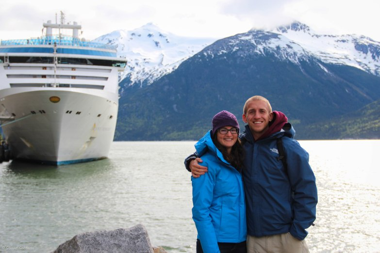 Princess Cruises Alaskan Cruise Island Princess Juneau Port