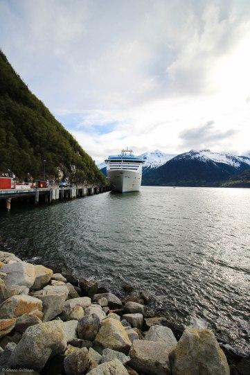 Princess Cruises Island Princess Juneau Port