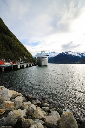 Princess Cruises Island Princess Juneau Port