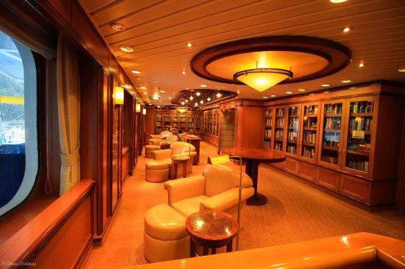 Princess Alaskan Cruise Ship Library