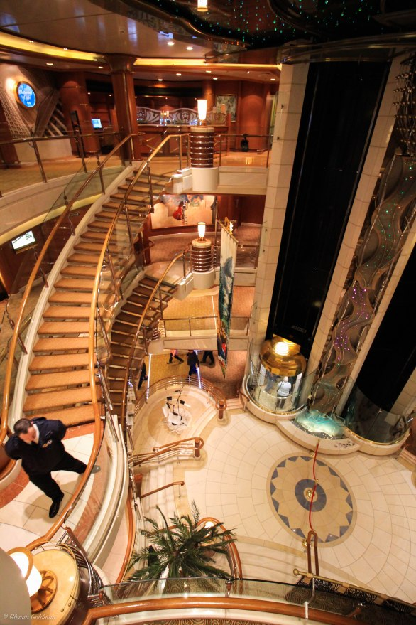 Princess Alaskan Cruise Atrium