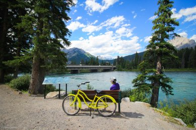 Banff Town Bike Path