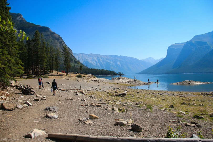 Lake Minnewanka Shoreline Banff