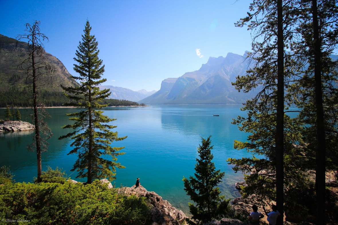 Lake Minnewanka Lakeshore Banff