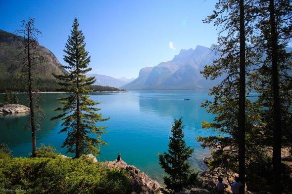 Lake Minnewanka Lakeshore Banff