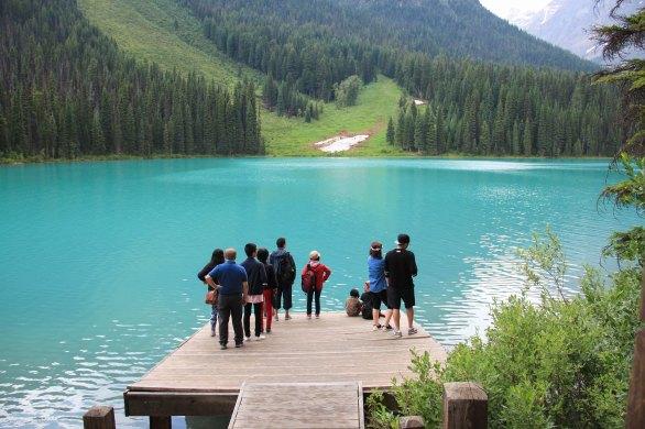 Emerald Lake Dock Yoho National Park