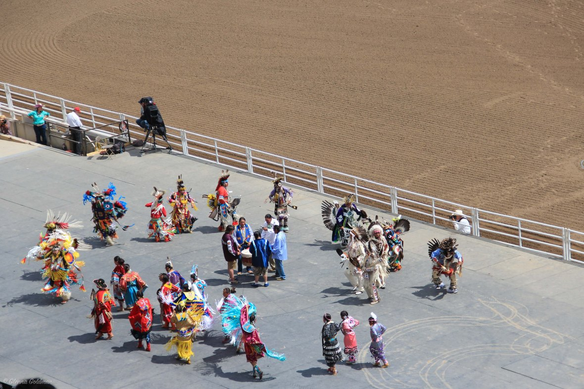 Calgary Stampede First Nations Ceremony