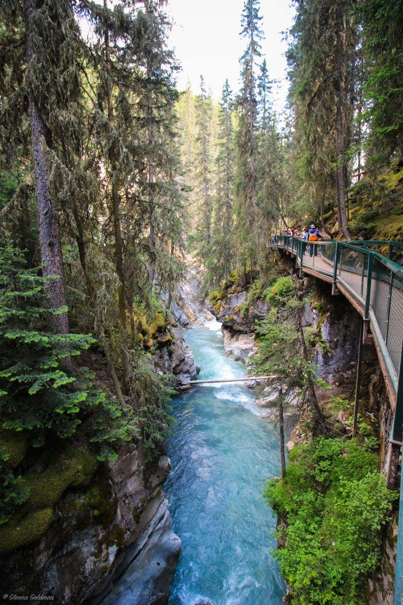Johnston Canyon Gorge Banff