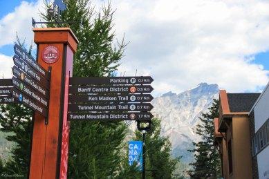 Banff Town Signs