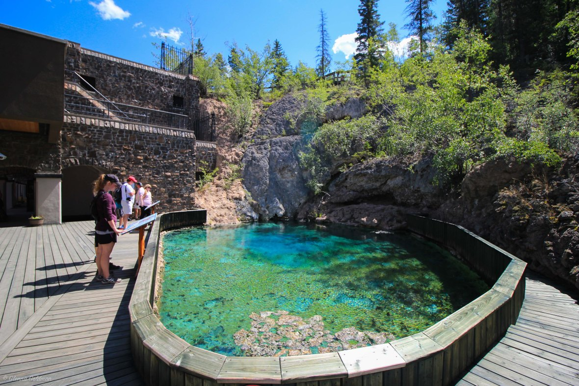 Cave and Basin National Historic Site Hot Springs Banff