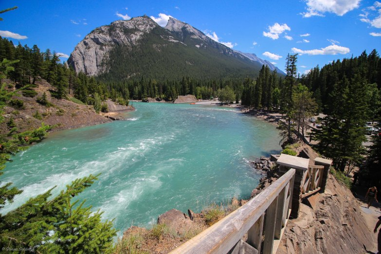 Bow River Falls Trail Banff
