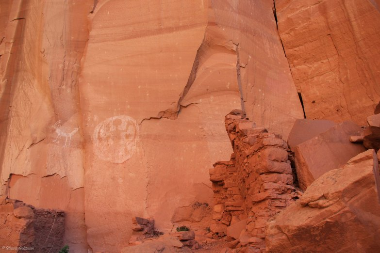 Ancestral Puebloan Pictographs at Betatakin Navajo National Monument