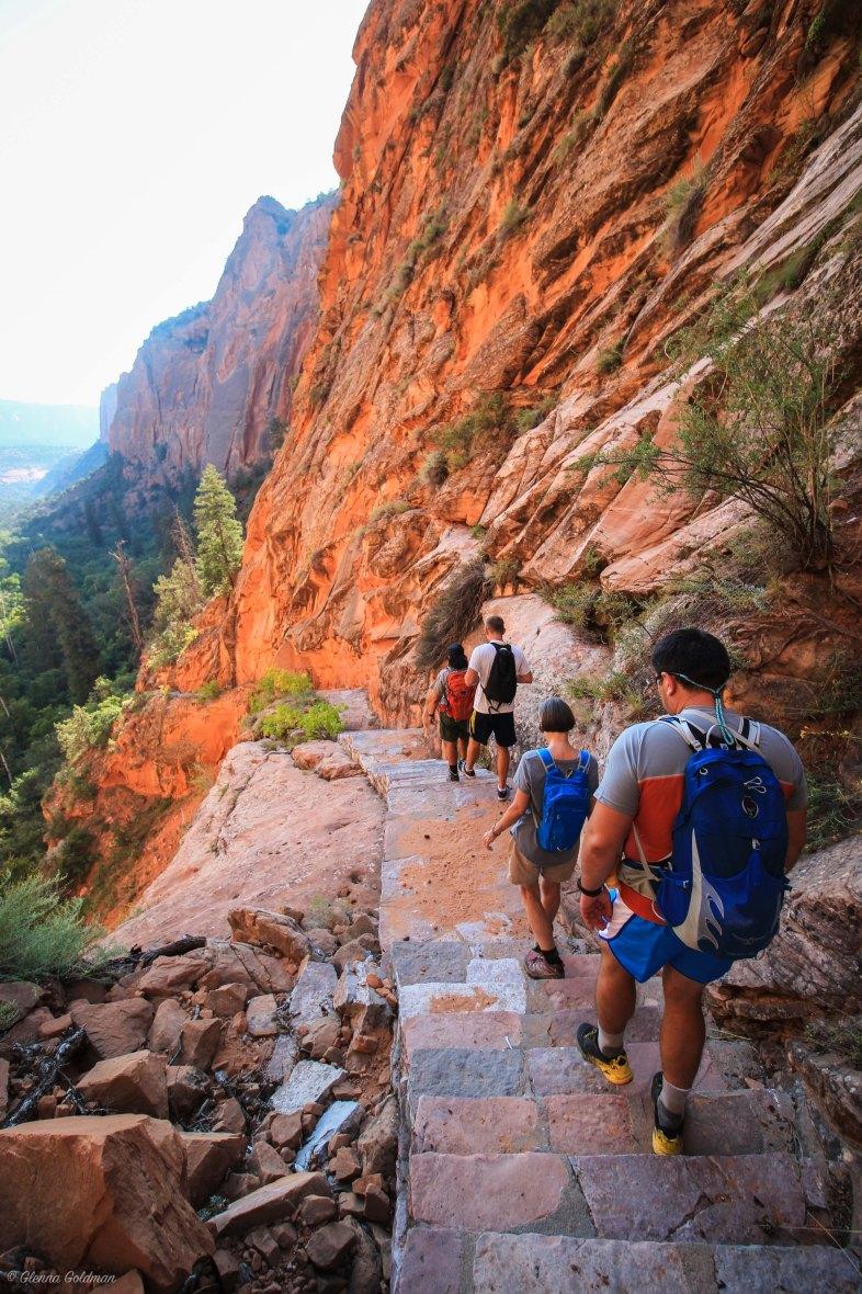 Navajo National Monument Trail to Betatakin Ancestral Puebloan