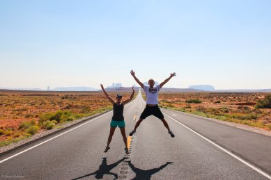 Monument Valley Jumping Photo Navajo