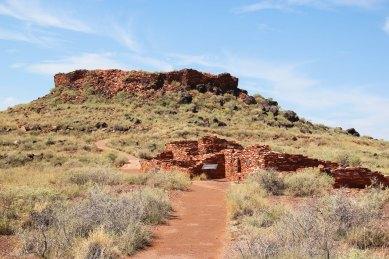 Citadel Ruin Wupatki National Monument Ancestral Puebloan