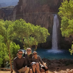 Group Shot Havasu Falls