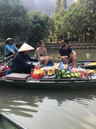 Tam-Coc-Boat-Ride-Snacks
