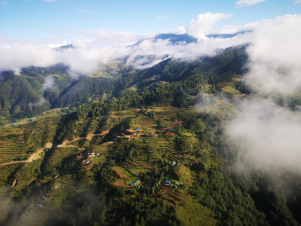 Aerial Nepal