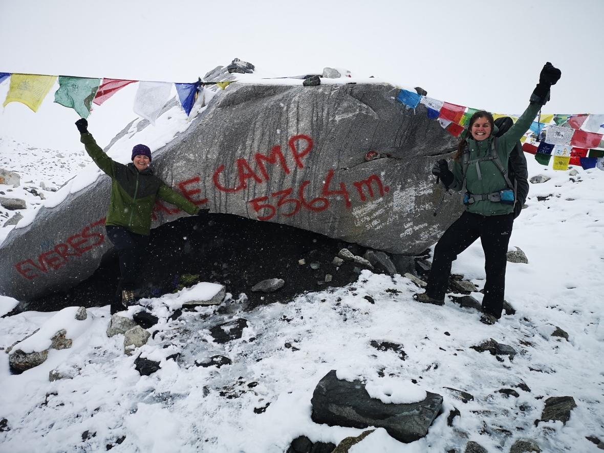 Everest Base Camp Boulder