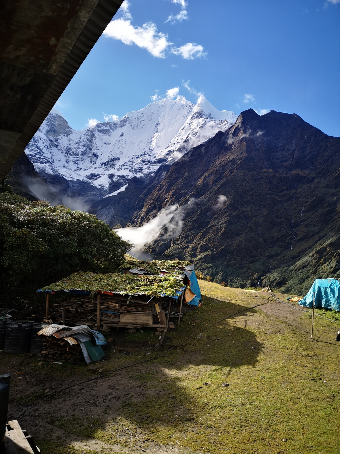 Nepalese Teahouse View